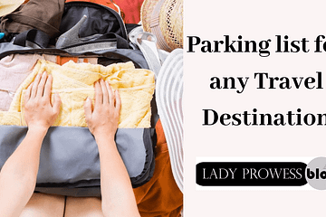 Packing List For Any Travel Destination
