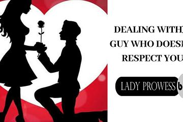 Handling a disrespectful partner