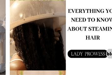 Steaming hair